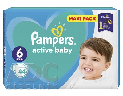 PAMPERS active baby Maxi Pack 6 ExtraLarge