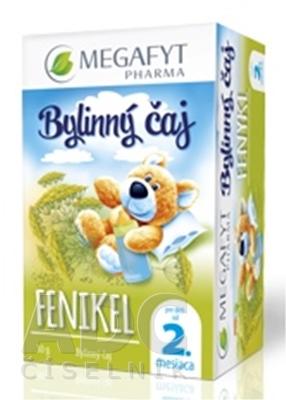 MEGAFYT Bylinný čaj FENIKEL pre deti