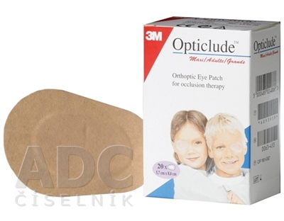 3M Opticlude Standard Maxi Očná náplasť [SelP]