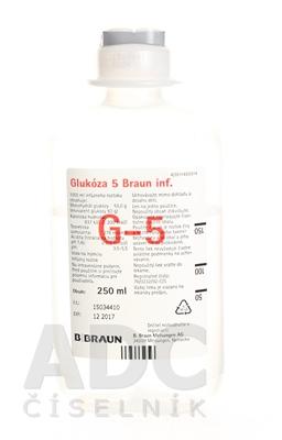 B.BRAUN Glukóza 5 inf.
