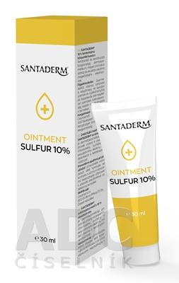 SANTADERM OINTMENT SULFUR 10%