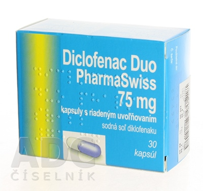 Diclofenac Duo PharmaSwiss 75 mg