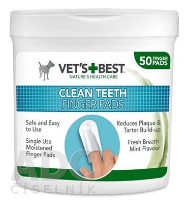 VET´S BEST CLEAN TEATH FINGER PADS