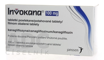 Invokana 100 mg