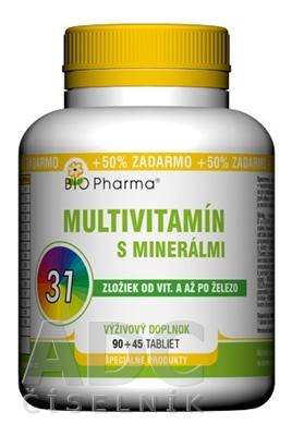 BIO Pharma Multivitamín s minerálmi 31 zložiek