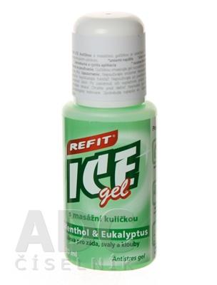 REFIT ICE GEL MENTOL EUKALYPTUS ROLL ON
