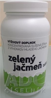 Top Green Zelený jačmeň tablety