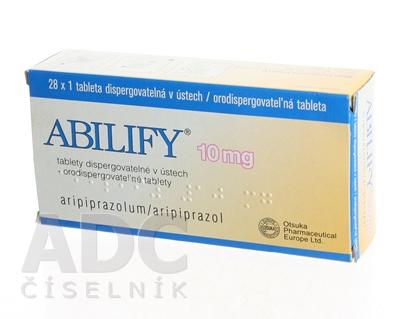 ABILIFY 10 mg orodispergovateľné tablety