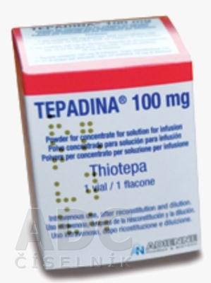 TEPADINA 100 mg prášok na infúzny koncentrát