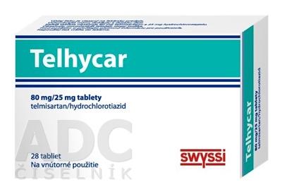 Telhycar 80 mg/25 mg tablety