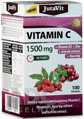 JutaVit Vitamín C 1500 mg