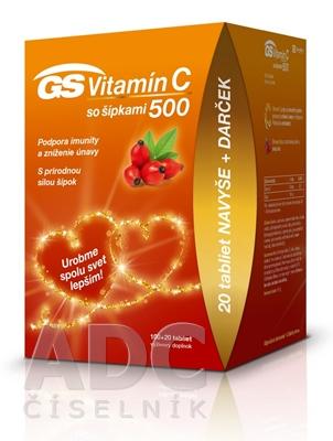 GS Vitamín C 500 so šípkami darček 2020