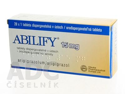 ABILIFY 15 mg orodispergovateľné tablety