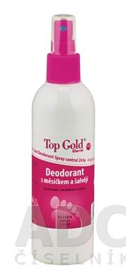 TOP GOLD Deo s nechtíkom a šalviou+Tea Tree Oil