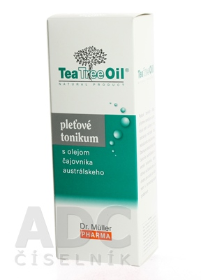 Dr. Müller Tea Tree Oil PLEŤOVÉ TONIKUM