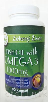 Zelený Život FISH OIL s OMEGA 3 1000 mg