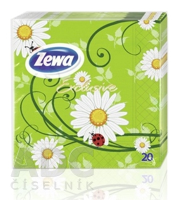 ZEWA Exclusive Servítky