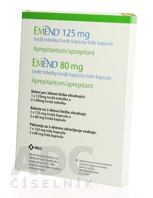 EMEND 125 mg a 80 mg