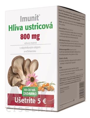 Imunit HLIVA ustricová 800 mg s rakytník. a echin.