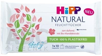 HiPP BabySANFT NATURAL vlhčené obrúsky