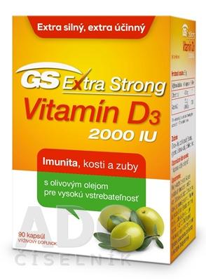 GS Extra Strong Vitamin D3 2000 IU
