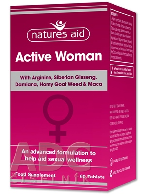 Natures Aid Active Woman