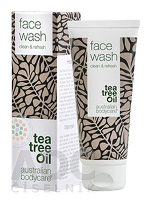 ABC Tea Tree Oil FACE WASH - Pleťový čistiaci gél