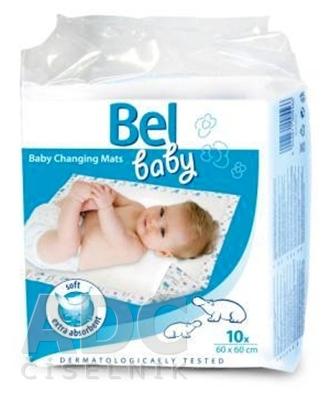 Bel baby prebaľovacie podložky
