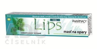 LIPS HELP masť na opary