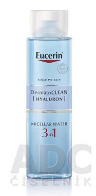 Eucerin DermatoCLEAN HYALURON Micelárna VODA 3v1