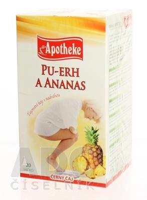 APOTHEKE PREMIER SELECTION ČAJ PU-ERH A ANANÁS