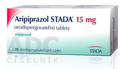 Aripiprazol STADA 15 mg orodispergovateľné tablety
