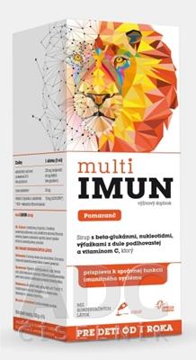 MultiIMUN SIRUP Pomaranč