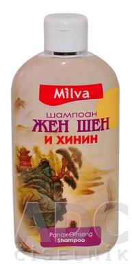 Milva Šampón ženšen a chinín