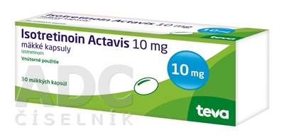 Isotretinoin Actavis 10 mg