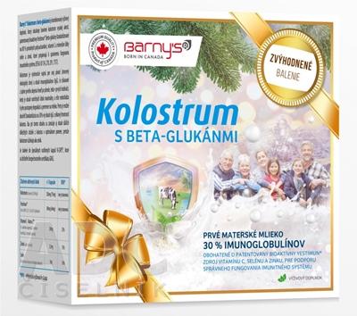 BARNY'S KOLOSTRUM s beta-glukánmi