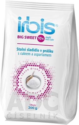 Irbis BIG SWEET stolové sladidlo v prášku
