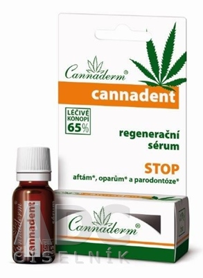 Cannaderm CANNADENT regeneračné sérum