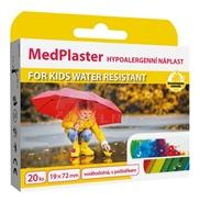MedPlaster Náplasť FOR KIDS WATER RESISTANT