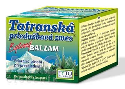 FYTO Tatranská priedušková zmes Bylinný BALZAM