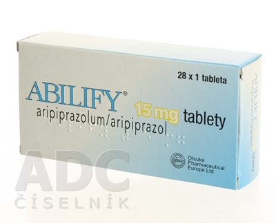 ABILIFY 15 mg tablety