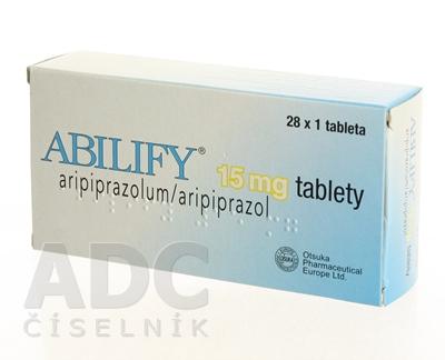 ABILIFY 15 mg tablety