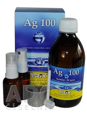 a7a0dd952 Produkty podobné TRIX Koloidné striebro Ag100 rodinné balenie - ADC.sk