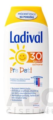 Ladival PRE DETI SPF 30 mlieko