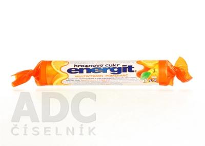 energit hroznový cukor MULTIVITAMÍN - POMARANČ