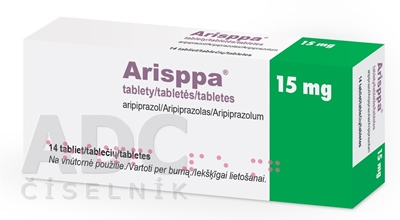 Arisppa 15 mg tablety