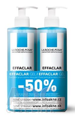LA ROCHE-POSAY Effaclar gél 1+1