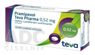Pramipexol Teva Pharma 0,52 mg