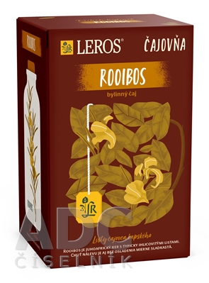 LEROS Čajovňa ROOIBOS čaj