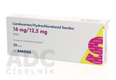 Candesartan/Hydrochlorotiazid Sandoz 16 mg/12,5 mg